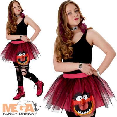 Muppets Animal Tutu Set Ladies Fancy Dress Disney Adults Teens Costume (Animal Muppets Kostüme)
