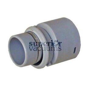 Central Vacuums Inlet Cuff, 1 1/4 Banded Swivel Grey