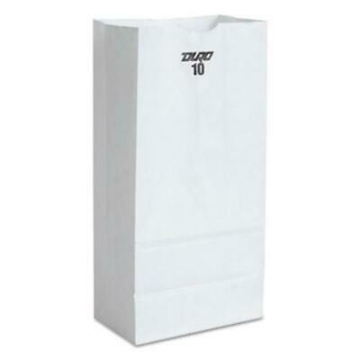 General Supply Gw10500 10 Paper Grocery Bag 35lb White Standard 6 516 X 4