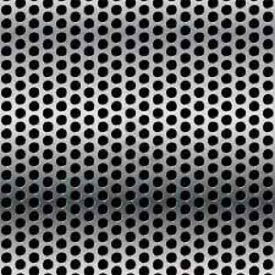 20 Ga Stainless Steel 304 Perforated Sheet 18 Holes 14 Stagger- 36 X 48