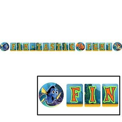 FINDING NEMO Fin-Tastic Fun BANNER ~ Birthday Party Supplies Decorations Disney ()
