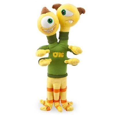 Terri & Terry Mini Bean Bag Plush Soft Stuffed Toy Monsters University 11''