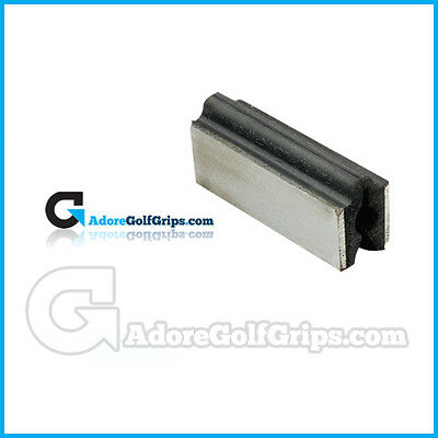 Professional - Metal Sided - Vice Clamp - Golf Shaft Clamp & Protector ()
