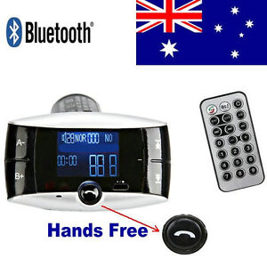 Bluetooth-Car-Kit-MP3-Player-FM-Transmitter-Hands-Free-Phone-SD-MMC-USB-Remote