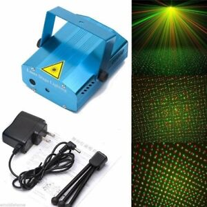 Laser Projector - New Years - Red/ Green - Brand New - StagePro