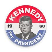 John F Kennedy Button