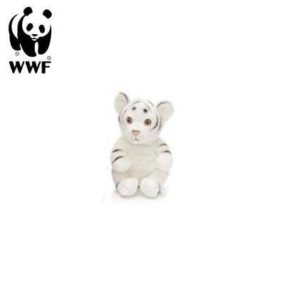 WWF Peluche Tigre Blanco (15cm) Natural Peluche Animal de Tela Gato Grande