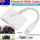 Mobile Phone HDMI Cables for Apple iPhone 8