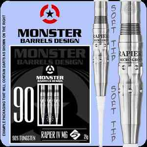 Monster Rapier IV Haruki Muramatsu No.5 21g Tungsten Darts $120