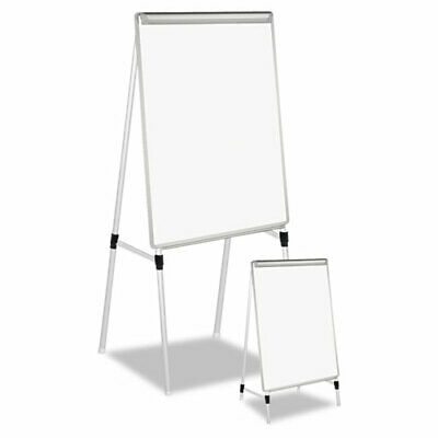 Dry Erase Easel Board Easel Height 42 To 67 Board 29 X 41 Whitesilver