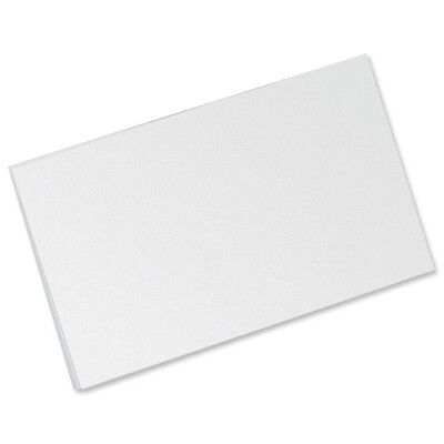 500 RECORD INDEX CARDS PLAIN WHITE 6 X 4