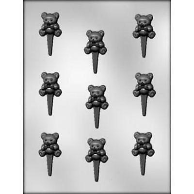 Party Cupcake Pics (BABY BEAR CUPCAKE PICS CHOCOLATE CANDY MOLD DIY BABY BIRTHDAY PARTY FAVORS)