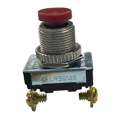 Gardner Bender GSW-23 Push Button Switch with Momentary Contact, 3A 120VAC, Sing