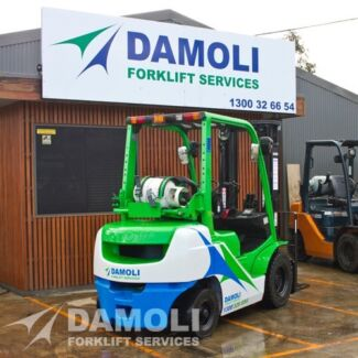 Latest Model Toyota Forklifts - Hire from $150 plus GST per week.