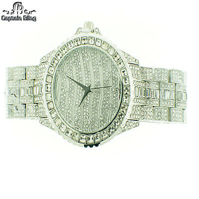 Hip Hop Watch WATCH BY ICE NATION /CAPTAIN BLING WATCH SET #22 FULL OF ICE -RHD