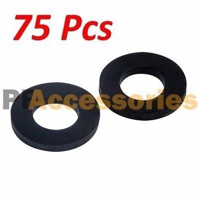 "75 Pcs 1"" inch OD O-Ring Hose Gasket Flat Rubber Washer Lot"