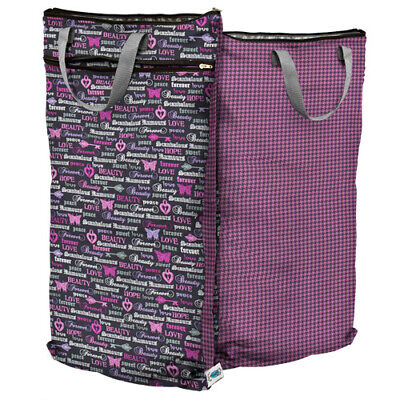 New! Planet Wise Hanging Wet Dry Bag Pail Liner - Love Forever