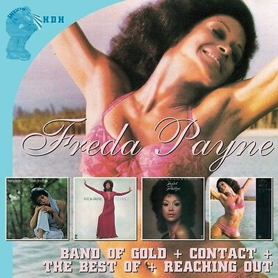 - Freda Payne - Band of Gold / Contact / Reaching Out [New CD] UK - Import