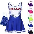 Blue Cheerleader