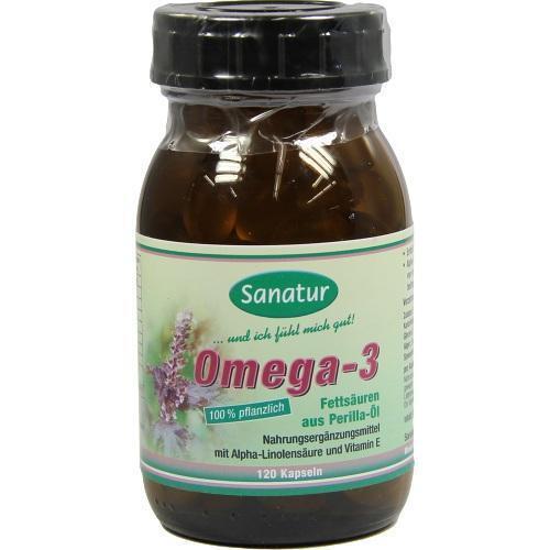 OMEGA 3 Fettsäuren 100% pflanzlich Kapseln 120 St