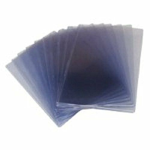 Case / 10 CBG 29 x 43 Uncut Sheet Hard Plastic Topload Holders 29x43 protectors
