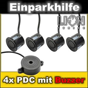 PDC mit 4 Sensoren Einparkhilfe VW Passat 32b, 35i, 3b, 3bg, 3c, Phaeton