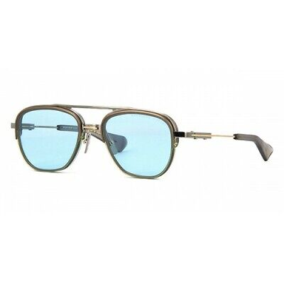Dita Rikton Type 402 DTS 117-54-02 Pale Gold / Blue Chromatic  Sunglasses (Chromatic Sunglasses)