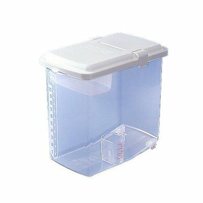 Rice Storage Container Kome Bitsu Rice bin revolution 10kg 22lbs japan new .