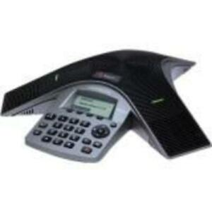 Polycom SoundStation IP Conference Station - Gray - 1 x Total Line - VoIP - Caller ID - SpeakerphoneNetwork (RJ-45) - Mo