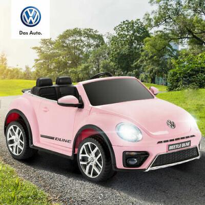 VW Käfer Kinder Kinderauto Kinderfahrzeug Elektro Elektrofahrzeug MP3 Pink 12V