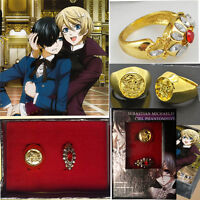 Cosplay Friends and... Black Butler cosplay rings