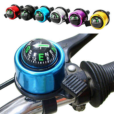 Bike Cycling BMX MTB Handlebar Compass Ring-down Horn Bicycle Bell Popular