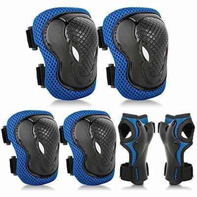 Protezione Kit per Bambini,Set Ginocchiere Gomitiere per Skate e Bicicletta