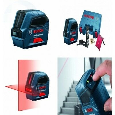 Bosch Gll 55 Self-leveling Cross-line Laser