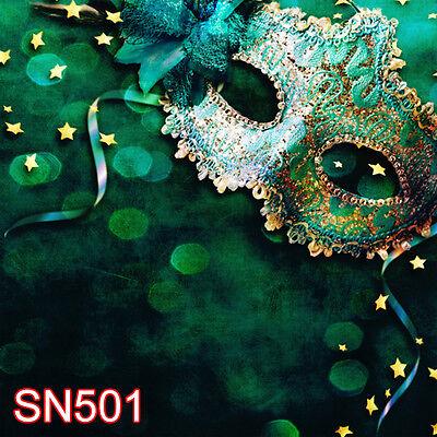 masquerade party 8x8 FT CP SCENIC PHOTO BACKGROUND BACKDROP Sn501 - Masquerade Backdrop