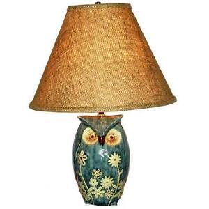 Owl lamp ebay owl table lamp mozeypictures Choice Image