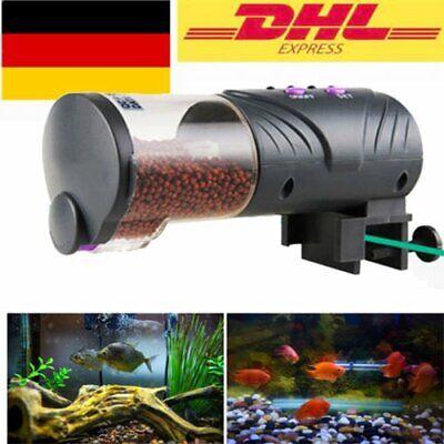 Automatik koi Fish feeder Futterautomat Futter Fisch Aquarium Timer teich Pond