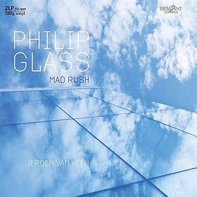 JEROEN VAN VEEN - MAD RUSH 2 VINYL LP NEU GLASS,PHILIP