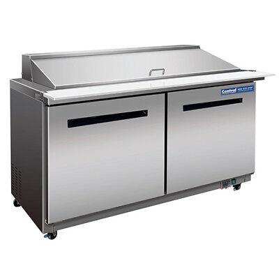 Sandwichsalad Prep Table - Mega-top Unit 24 Pan Capacity