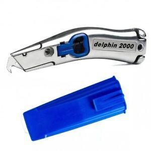Delphin 2000 Knife Dolphin Carpet Vinyl Fitters Knife Handle & Holster Original