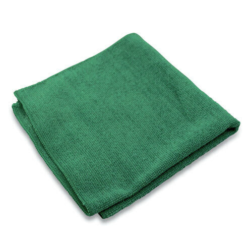 "Impact LFK301 240/CT 16""x16"" Lightweight Microfiber Cloths - Green New"