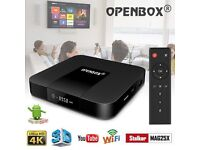 OPENBOX VX2 Android 7.1 4K TV Box WIFI 2gb 16GB + 12m Gift