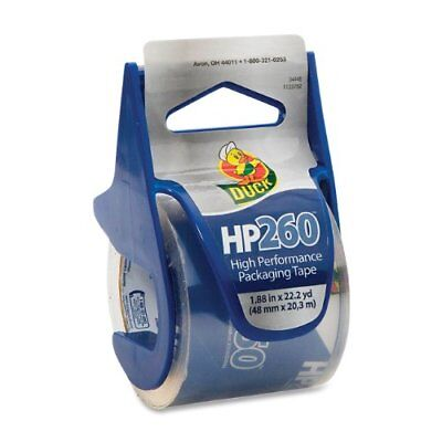 Duck Hp260 Packaging Tape With Dispenser - 1.88 Width X 66.60 Ft Length - 1.50