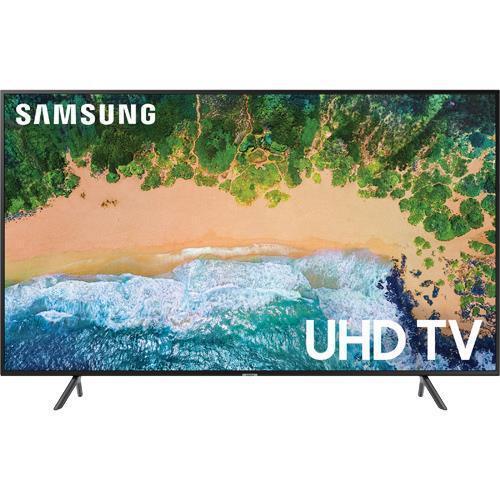 "Samsung Un75nu7100 75"" Class Smart Led 4k Hdr Uhd Tv With Wi-fi"