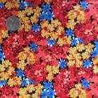 "3 - 5 Metres Half Meter (20"") Flowers & Plants Craft Fabrics"