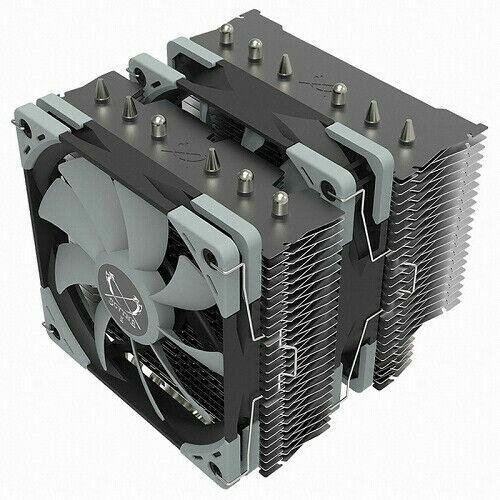 Scythe Fuma 2 CPU Air Cooler LGA1151 AM4/Ryzen 120mm Dual Towers Black Top Cover