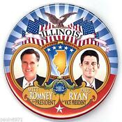 Romney Political Buttons