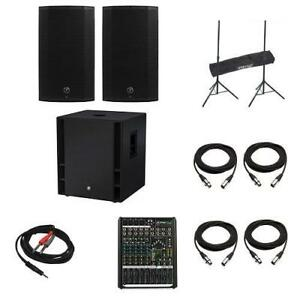 PRO LIVE SOUND PACKAGE - EPIC BUNDLE!!! ALL IN ONE AT AN AMAZING PRICE - $1,909.99