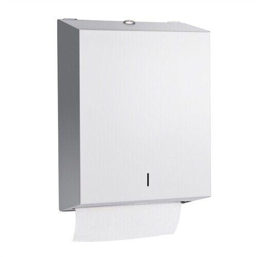 AJW U180 Surface mounted Towel Dispenser STAINLESS STEEL BS8.