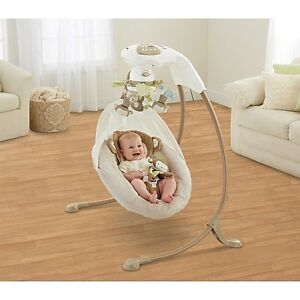 Fisher Price Snuga Monkey Special Edition Cradle 'n Swing